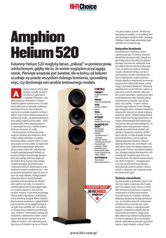 amphion helium 520